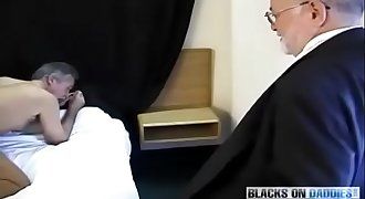gay daddy older sucking produce black