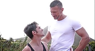 Ripped dad fuck his son, Tomas Brand and Devin Franco