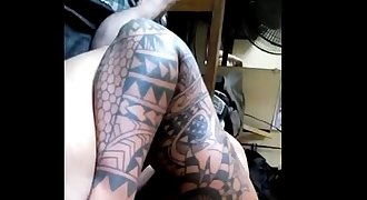 GAY PINOY DADDY PORN- TSUPA NI DADDY NA MAY TATTOO! (new)