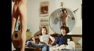 Vintage Gay Bareback Treat