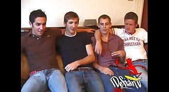 Youthful Straight and Gay Sex Orgy